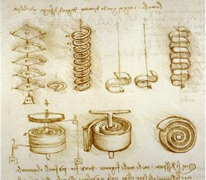 Leonardo da vinci analisi di diversi tipi di molle for Analisi grammaticale di diversi