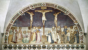 Crucifixion, Museum of San Marco, Florence.