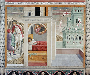 The Dream of the Palace, Church of St. Francis, Montefalco.