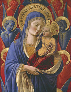 Madonna and Child, Institute of Arts, Detroit.