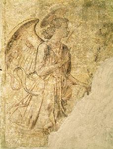 Annunciazione (sinopia), Camposanto, Pisa.
