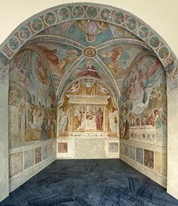Tabernacle of the Madonna of the Cough, Benozzo Gozzoli Museum, Castelfiorentino.