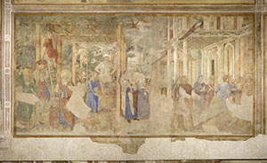 The Vintage and Drunkenness of Noah, Camposanto (Graveyard), Pisa.