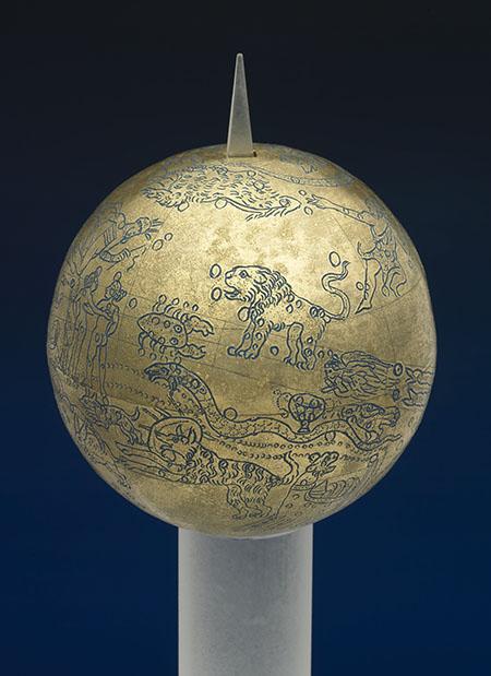 Roman celestial globe