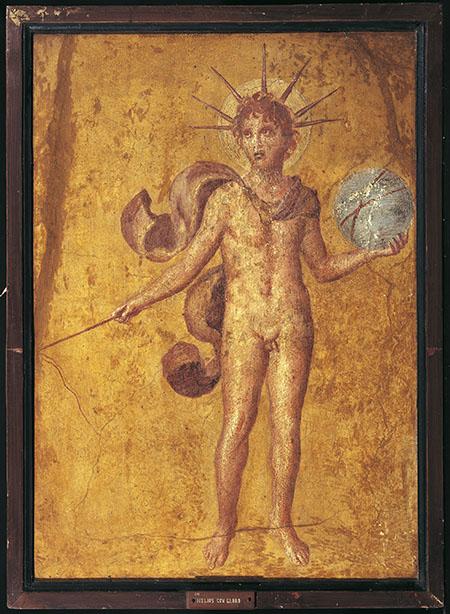 Apollo-Helios with sphere