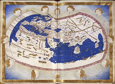 Claudius Ptolemy, Cosmographia