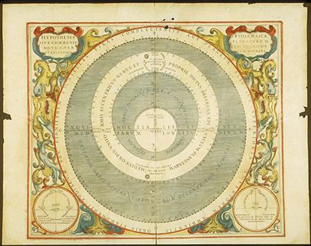 Andreas Cellarius, Atlas coelestis seu Harmonia Macrocosmica - pl. 15