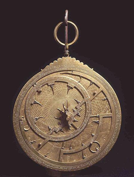 Ibrahim ibn Saîd, Astrolabio arabo