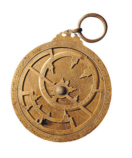 Ahmad ibn Khalaf, Astrolabio