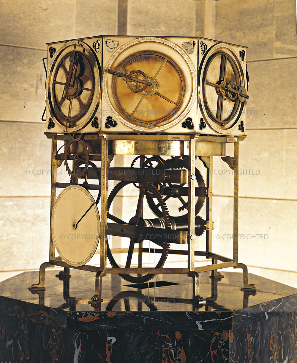 Giovanni de' Dondi's astrarium - Working model