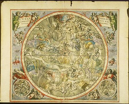 Andreas Cellarius, Atlas coelestis seu Harmonia Macrocosmica - pl. 23