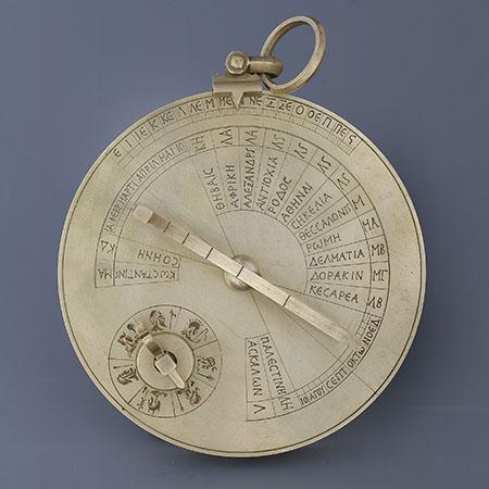 Byzantine sundial-cum-calendar - Working reconstruction