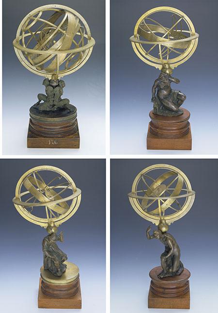 Antonio Lupicini, Geocentric armillary spheres