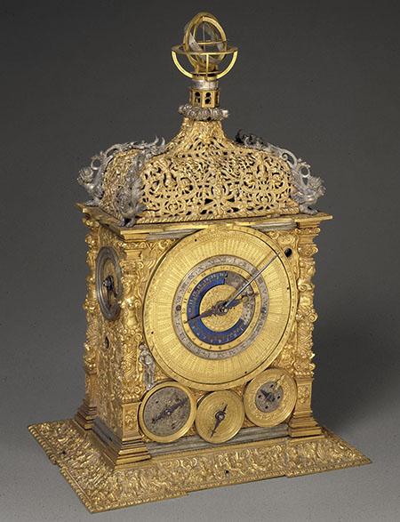 Caspar Rauber (attr.), Astronomical table clock