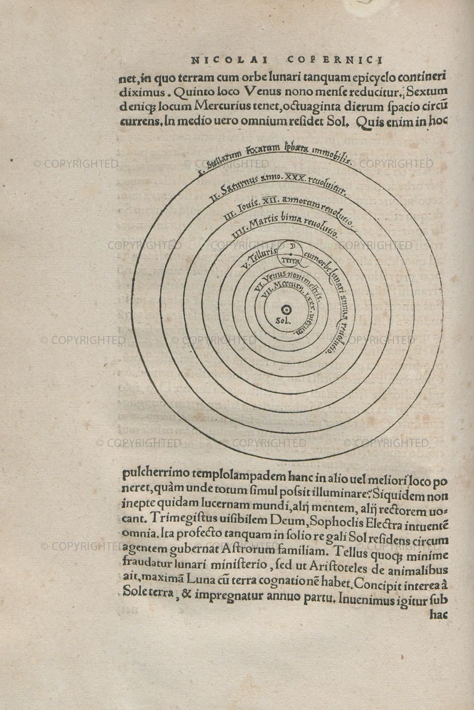 Nicolaus Copernicus, De revolutionibus orbium coelestium