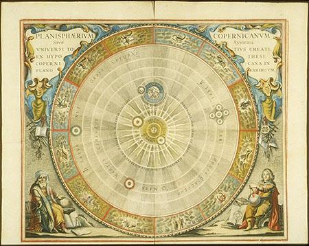 Andreas Cellarius, Atlas coelestis seu Harmonia Macrocosmica (pl. 5)