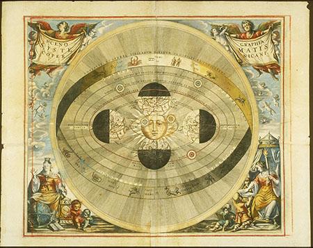 Andreas Cellarius, Atlas coelestis seu Harmonia Macrocosmica (pl. 6)