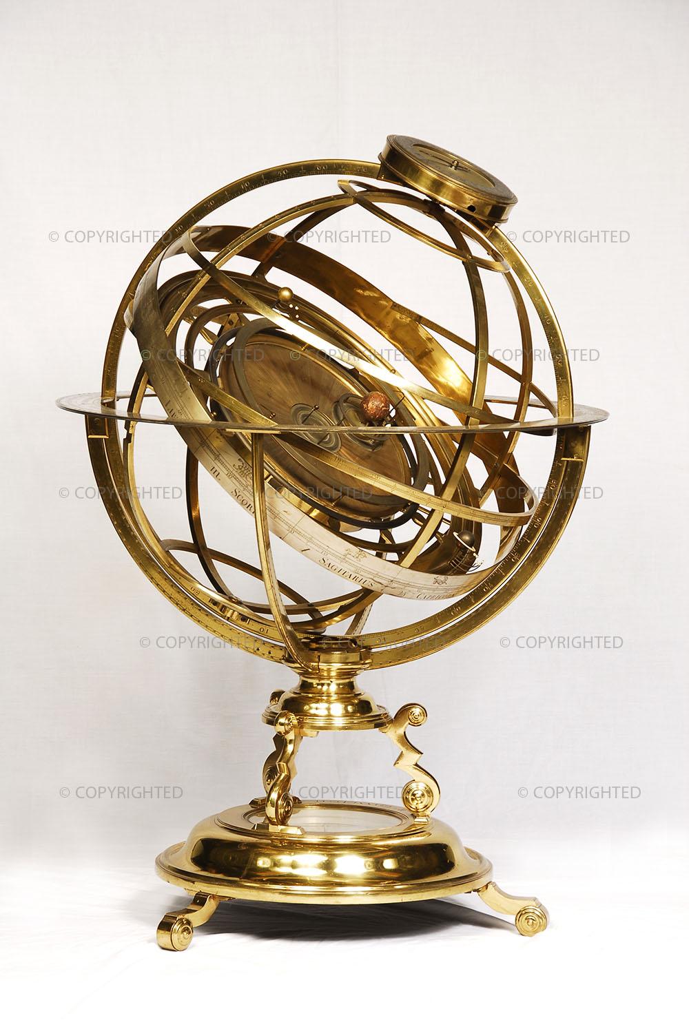 Richard Glynne  Armillary Sphere