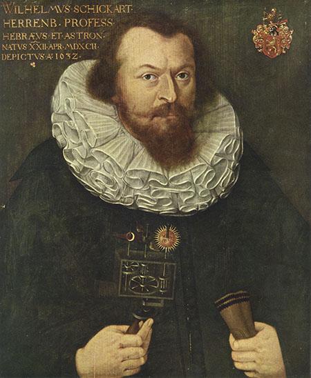 Anonymous, Portrait of Wilhelm Schickart