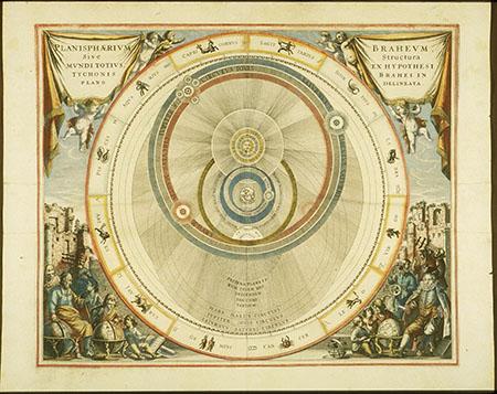 Andreas Cellarius, Atlas coelestis seu Harmonia Macrocosmica (pl. 7)