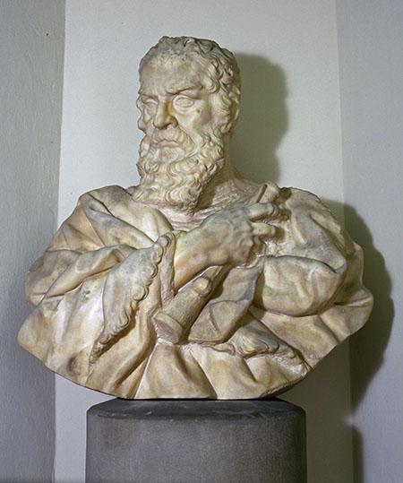 Carlo Marcellini, Bust of Galileo Galilei