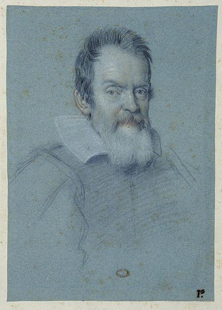 Ottavio Leoni, Portrait of Galileo Galilei