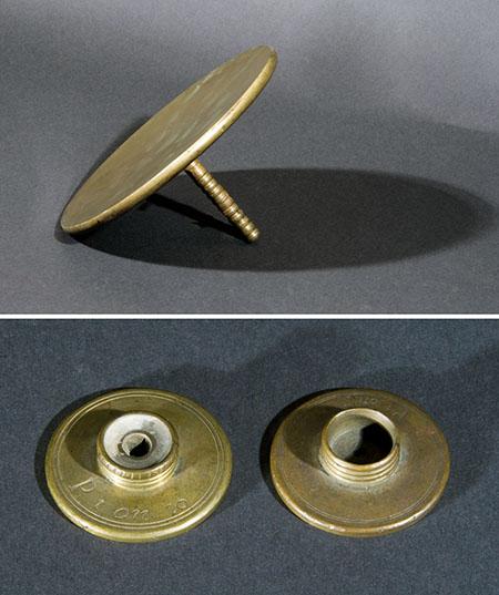 Giuseppe Campani, Forme metalliche per telescopi e microscopi