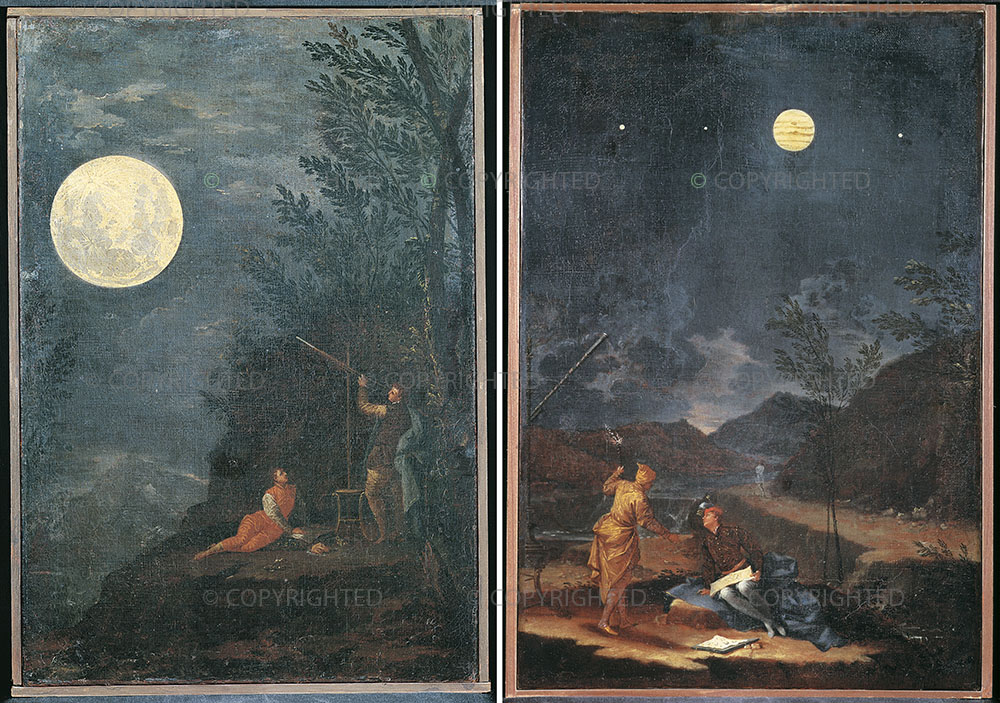 Donato Creti, Moon and Jupiter