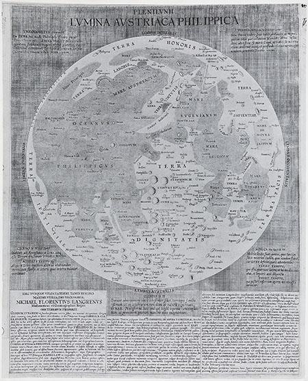 Michel Florent van Langren, Plenilunii Lumina Austriaca Philippica
