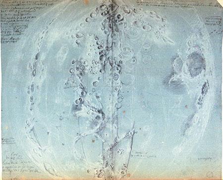 Giandomenico Cassini, Original drawings of the Moon