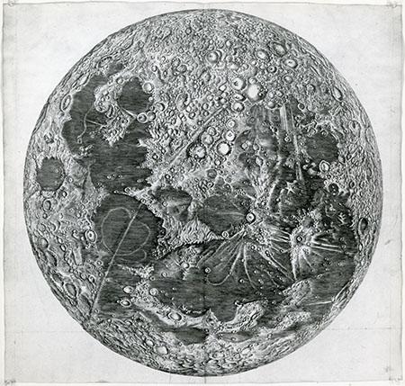 Giandomenico Cassini, Grande carta della Luna