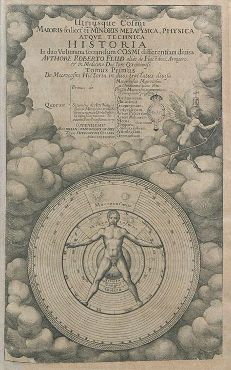 Robert Fludd, Utriusque Cosmi historia