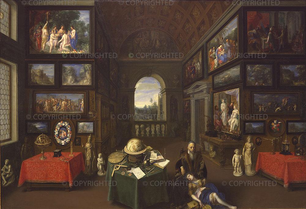 Studio of Jan Bruegel the Elder, Linder Gallery Interior