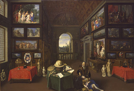School of Jan Bruegel the Elder, Linder Gallery Interior