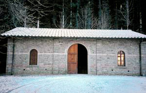 Visitors Centre, venue of the exhibition of the Administration Office of Vallombrosa, Management of ex State Forests Corporation, State Foresters Corps, Vallombrosa, Reggello.