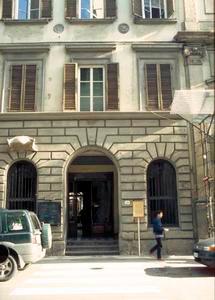 La sede del Centro di Documentazione per la Storia dell'Assistenza e della Sanità Fiorentina - Antico Ospedale di San Giovanni di Dio, Firenze.