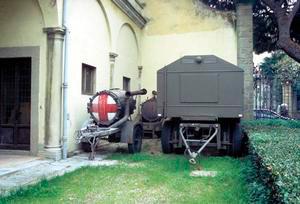 Macchina per la sterilizzazione campale, Centro Militare di Medicina Legale, Firenze.
