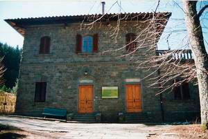 Esterno del Museo Dendrologico, Vallombrosa, Reggello.