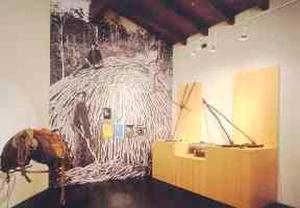 Una sala espositiva, Museo della Gente della Montagna Pistoiese (Ecomuseo della Montagna Pistoiese), Rivoreta, Cutigliano.