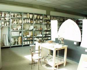 Veduta d'insieme dell'Archivio della Ceramica Sestese, Sesto Fiorentino.