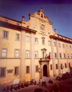 "Façade of the National Boarding School ""Francesco Cicognini"", Prato."