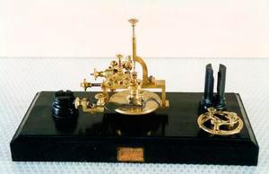 Macchina dentatrice per orologeria, fine sec. XIX, Museo degli Strumenti per il Calcolo, Pisa.