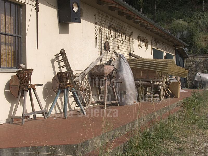 Exterior of the Museo della Casa Contadina, Castelnuovo di Subbiano.