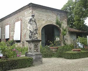 Ingresso della limonaia di Palazzo Corsini al Prato, Firenze.