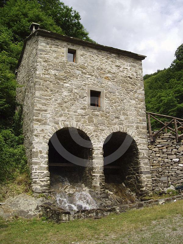 Itinerario della vita quotidiana. Il Molino di Giamba e di Berto, Ecomuseo della Montagna Pistoiese, Pistoia.