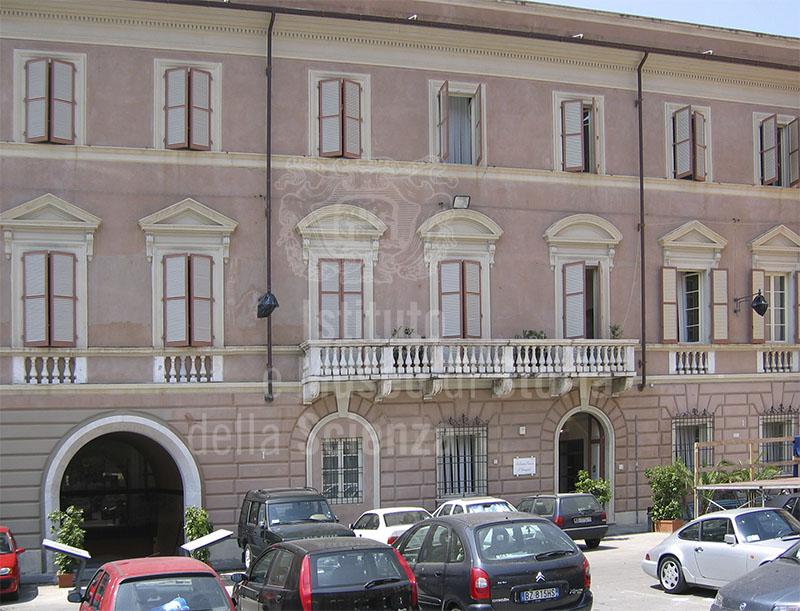 Biblioteca civica, sede dell'Accademia di Scienze e Lettere delle Alpi Apuane, poi de' Rinnovati, Massa.