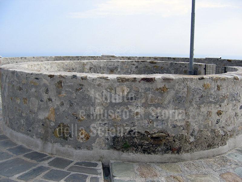 Cisterna interna del Castello Aghinolfi, Montignoso.