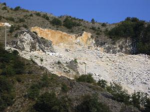 Cave di marmo del Bacino di Miseglia, Cava Museo di Fantiscritti, Carrara.