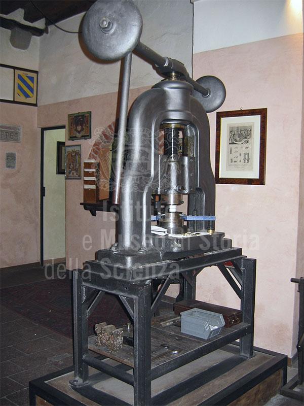 Macchinario dell'Antico Uffizio della Zecca, Lucca.