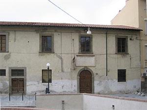 Facciata dei Bottini dell'olio, Livorno.